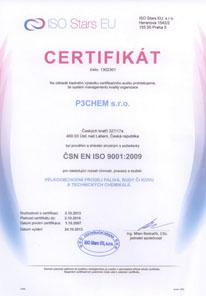 Certifikát ISO 9000